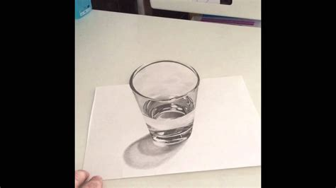 dibujos realistas a lapiz 3d dibujo realista a l 225 piz 3d pencil drawing 3d youtube