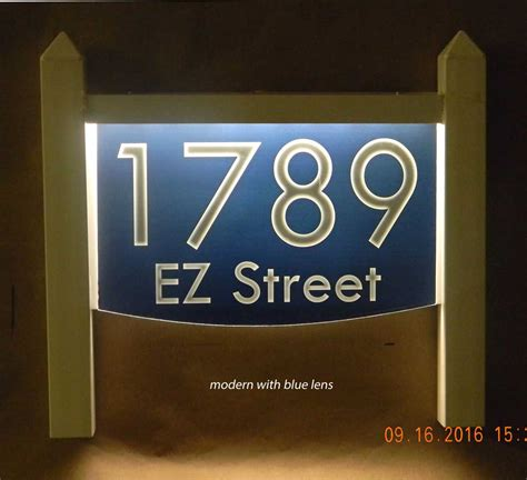light up address plaque light up lawn mount address plaque