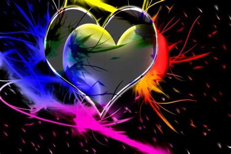imagenes de corazones en 3d con movimiento corazones de colores en 3d 33468