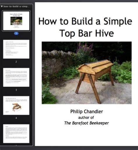 how to build top bar hive zelf maken top bar hive imkerij haarlem