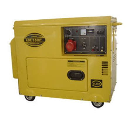 china kde3500e 3kw diesel silent generator for home use