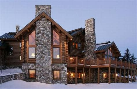 real estate beat alpine log home designed with western