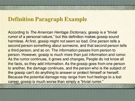 definition pattern paragraph methods of paragraph development