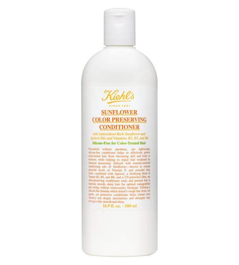 best silicone free conditioners sunflower color preserving conditioner formulated without