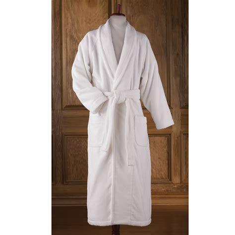 bathroom robes the genuine turkish luxury bathrobe hammacher schlemmer