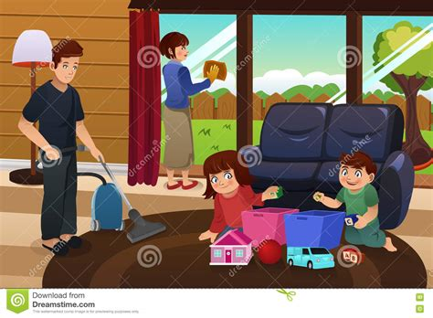 cleaning the house family cleaning the house clipart clipartxtras