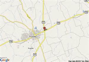 map of best western rockdale inn rockdale