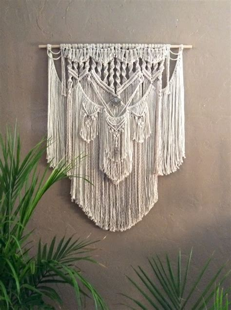 Wall Hangings - hippie decor macrame wall hanging tapestry wall by