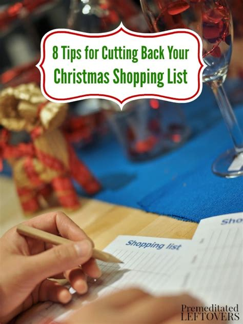 8 Tips For A Tight Budget by 8 Tips For Cutting Back Your Shopping List