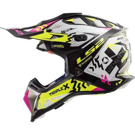 ls2 motocross helmet ls2 mx470 subverter triplex motocross helmet