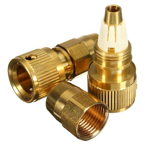 Garden Hose Connector Size by 2pcs Brass Magic Garden Hose Connector Expandable