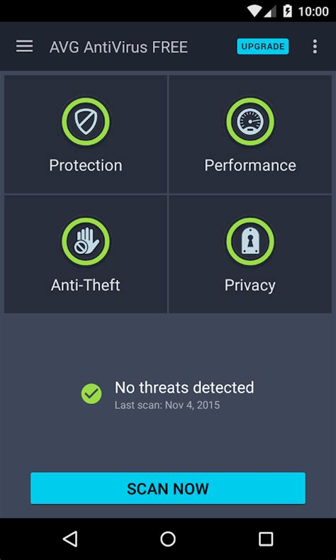 free avg for android avg antivirus free for android android apps on play