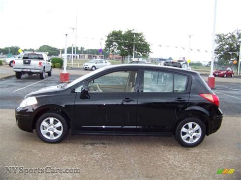 2009 nissan versa hatchback 2009 nissan versa 1 8 sl hatchback in black 410363