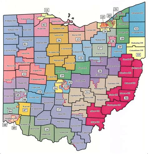 ohio district map proposed state maps would place reps fedor szollosi in