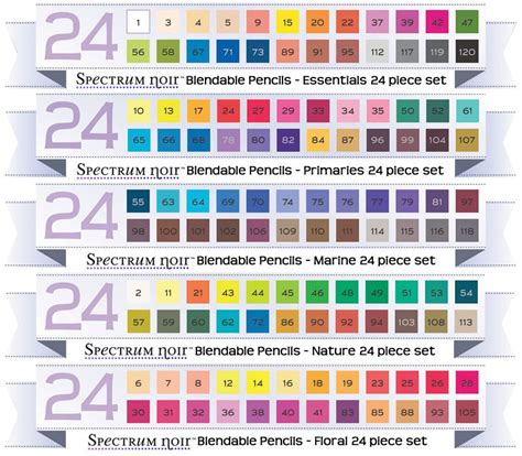 spectrum noir colored pencils spectrum noir on coloring pens and hair coloring