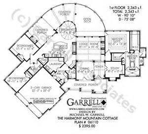 Garrell Floor Plans Harmony Mountain Cottage House Plan Active House Plans