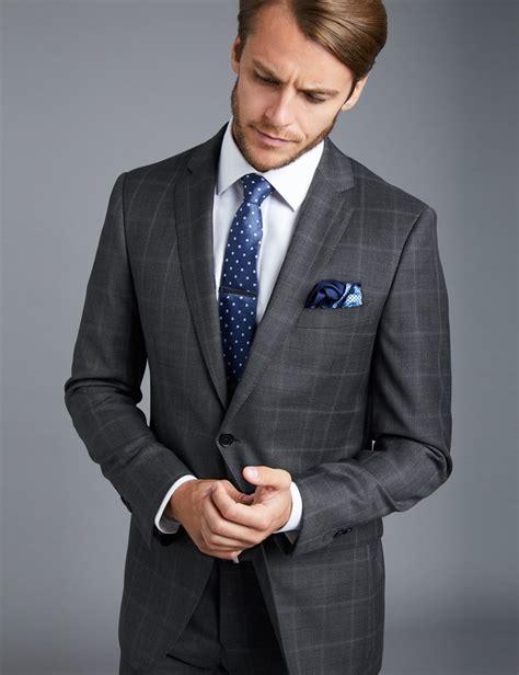 light charcoal grey suit s charcoal grey big overcheck slim fit suit jacket