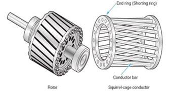 induction motor end rings difference between squirrel cage and slip ring induction motor etrical