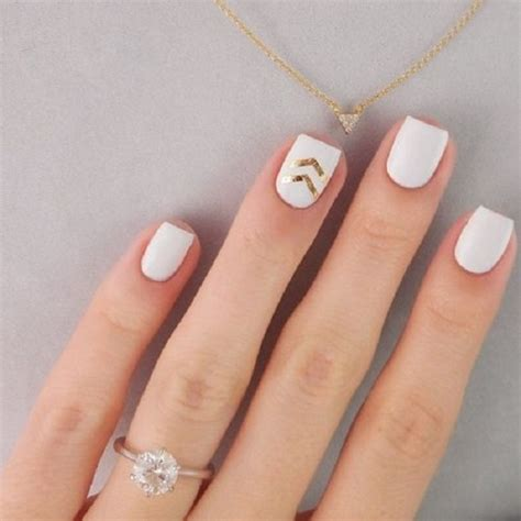 easy nail art gold 45 gold nails you wish to try nenuno creative