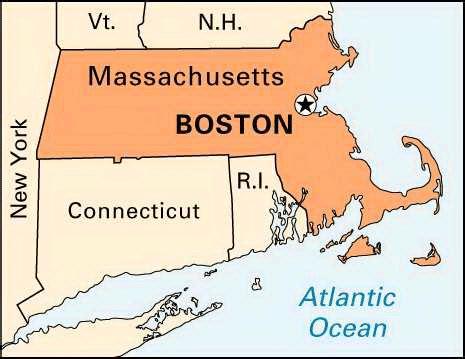 boston united states map maps united states map boston