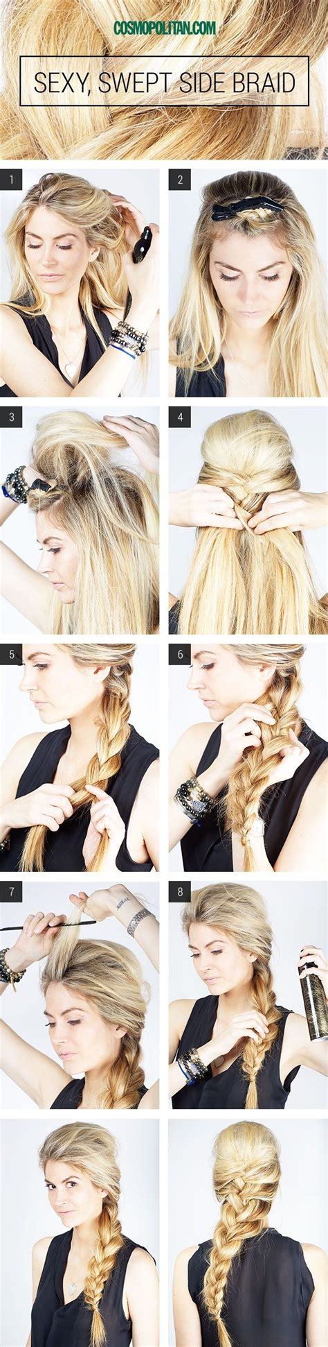 the perfect braid 10 charming braided hairstyles tutorials for summer
