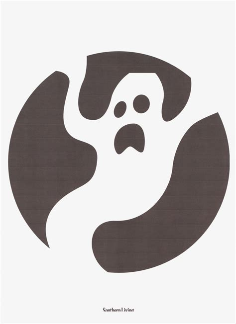 ghost pumpkin template ghost stencil crafty shizz to try