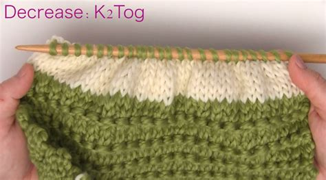 decrease 2 stitches knitting how to knit a bun hat in 7 easy steps studio knit