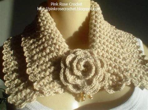 tejido de estolas sencillas cuello tejido tejidos lady s pinterest crochet