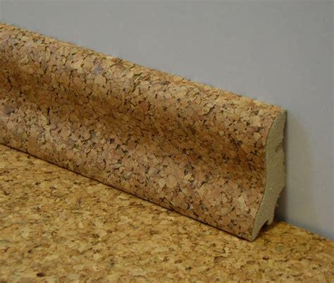 kork sockelleisten kork sockelleiste mit echt korkfurnier 40 x 22 x 2000 mm