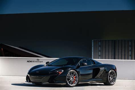 Black McLaren 650S   ADV10 M.V2 CS Series Wheels   ADV.1