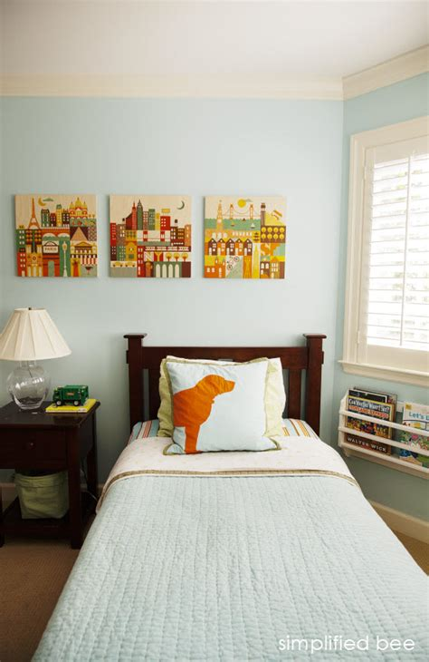 orange and blue bedroom blue and orange boys bedroom archives simplified bee