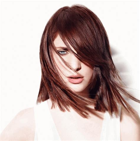 hait color 36 intensely cool mahogany hair color ideas