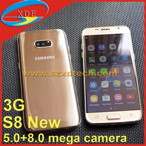 Samsung S8 Edge Replika new coming replica samsung galaxy s8 edge s8 clone android smart phone xd s8 edge 1 china