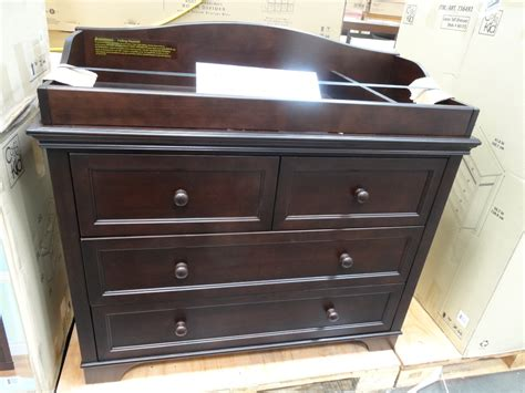 dresser changing table espresso changing table dresser home furniture design