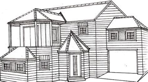 how to draw a house plan how to draw a house learn to draw to