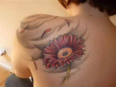 gerbera daisy tattoo gerbera gratifying tattoos 5476073 171 top