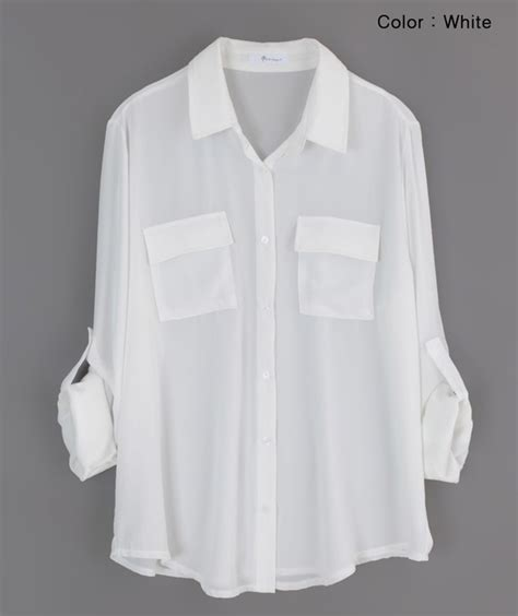White Blouse white blouses sleeved blouse