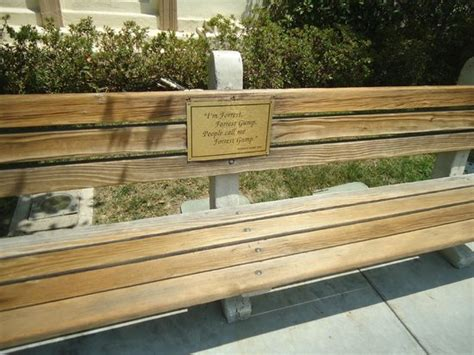 forrest gump on bench the actual forrest gump bench picture of paramount studios los angeles tripadvisor