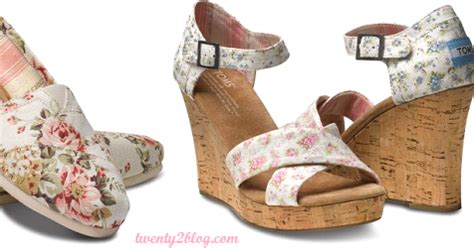 twenty2 blog shabby chic for toms collection fashion