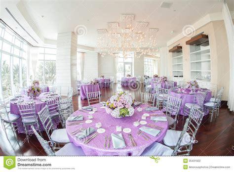 Luxurious Wedding Reception Stock Photography   Image