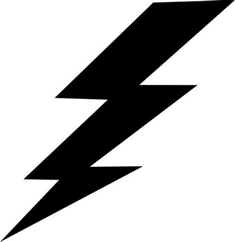 Rnb H black lightning bolt clip at clker vector clip