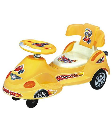 swing cars style zone yellow sport musical swing car buy style zone