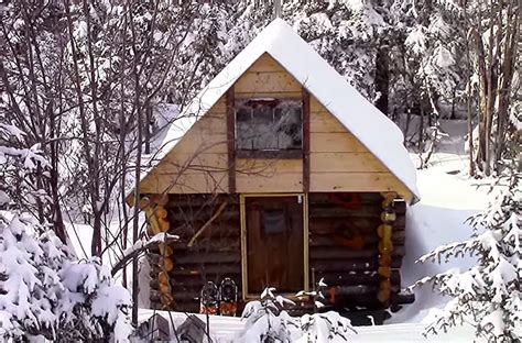 Can You Build A Log Cabin Without Planning Permission by 500 Grid Cabin How To Build A Cabin Without A Permit Grid World