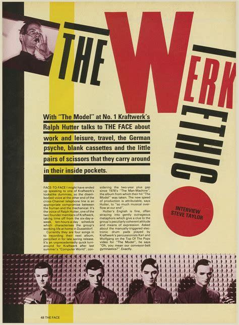 magazine layout design definition neville brody