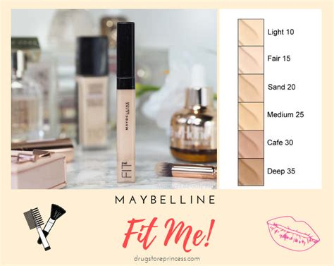 Maybelline Fit Me Concealer Di Indonesia maybelline fit me concealer 15 fair daftar update harga