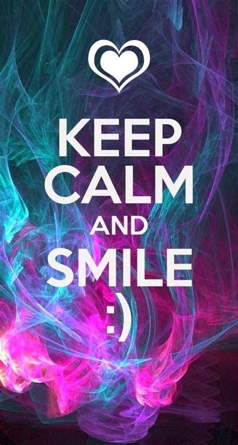 imagenes de keep calm and smile keep calm and smile pictures photos and images for