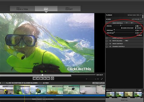how to use gopro edit templates 6 steps to awesome video