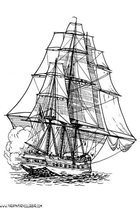 barco moderno dibujo dibujos para colorear de barcos con velas 064