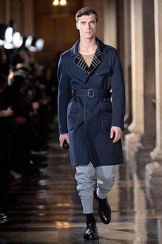Menswear Chic At Dries Noten Gets A Twist By Wearing The Necktie Like A Harness Its A Snap To Capture The Spirit Without Breaking The Bank Fashiontribes Fashion by Dries Noten Menswear Fall Winter 2010 Searching For