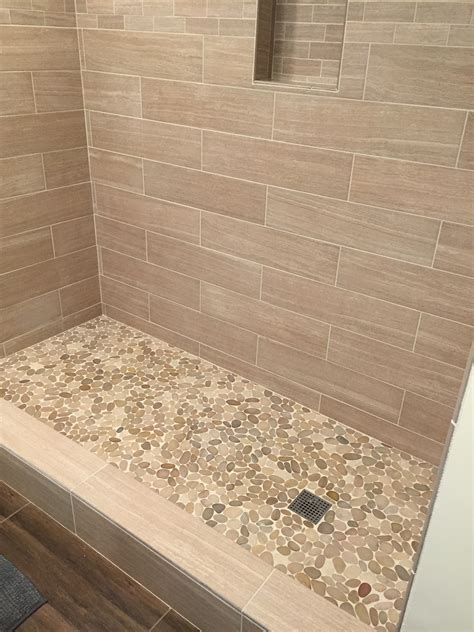 pebble bathroom tiles sliced java tan pebble tile pebble tile shop